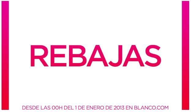 BLANCO.COM REBAJAS 2012