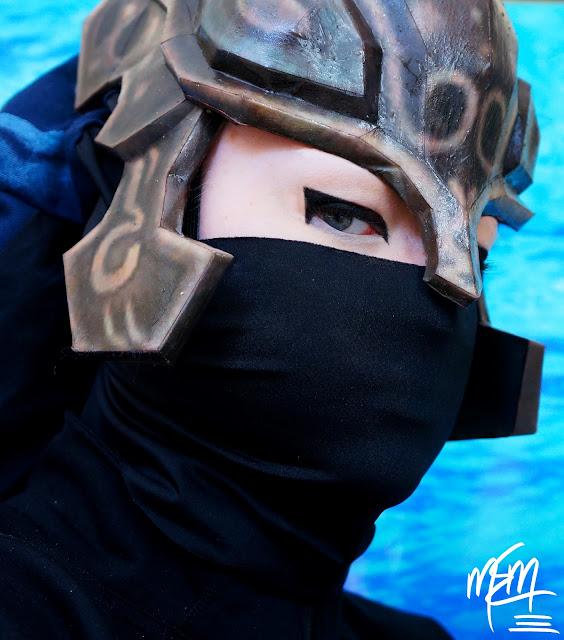 Life-zie Zora Armor Papercraft Helmet
