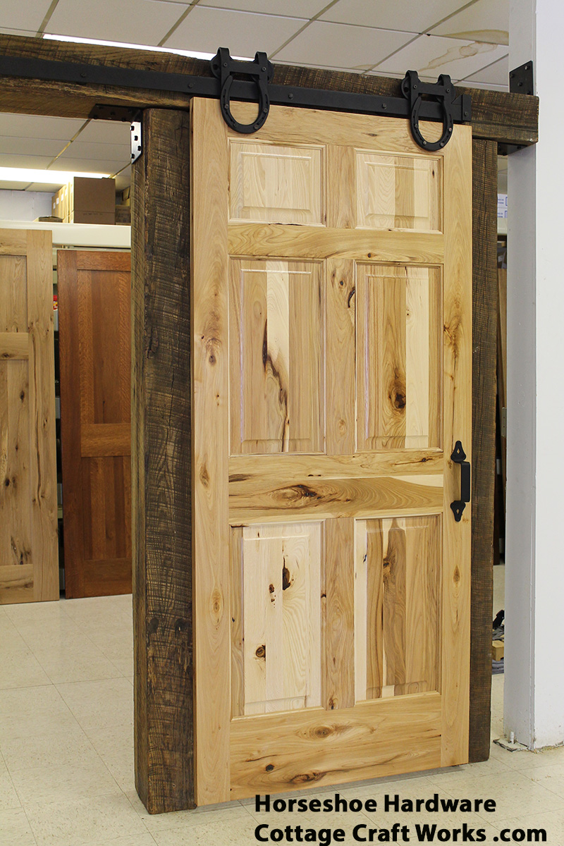 Sliding barn door hardware usa amish made for Barn doors and hardware