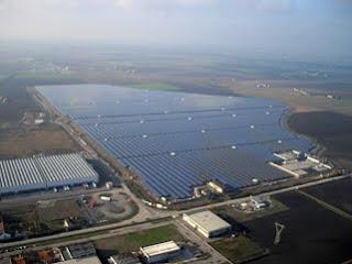 Rovigo Solar Plant in Italy
