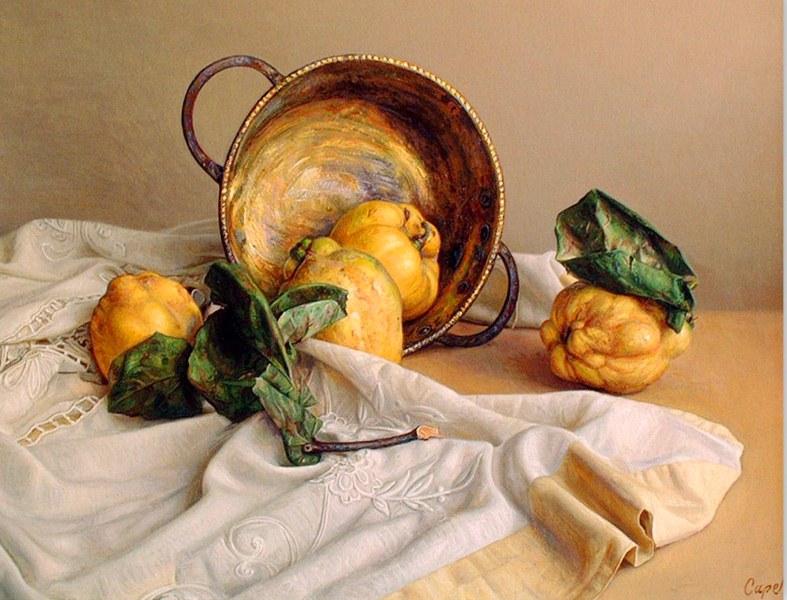 Pinturas & Cuadros: Bodegón pintura óleo sobre lienzo
