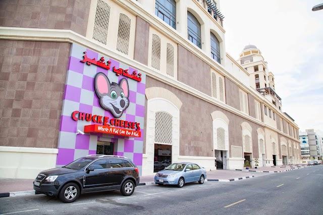 Chuck E. Cheese's Opens in Oud Metha, Dubai