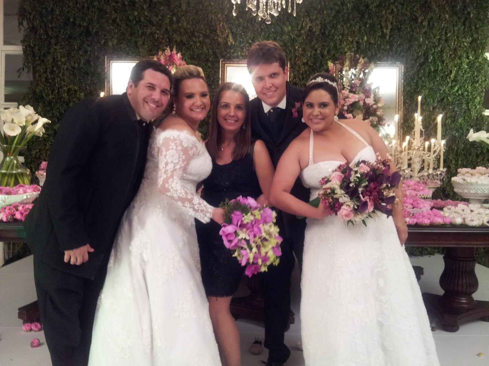 Camila e Thiago + Ana Carolina e Rafael