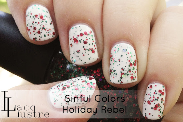 Sinful Colors Holiday Rebel swatch