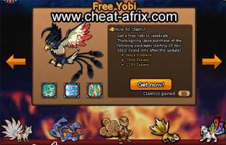 Get Free Pet Yobi Ninja Saga Nov 2012