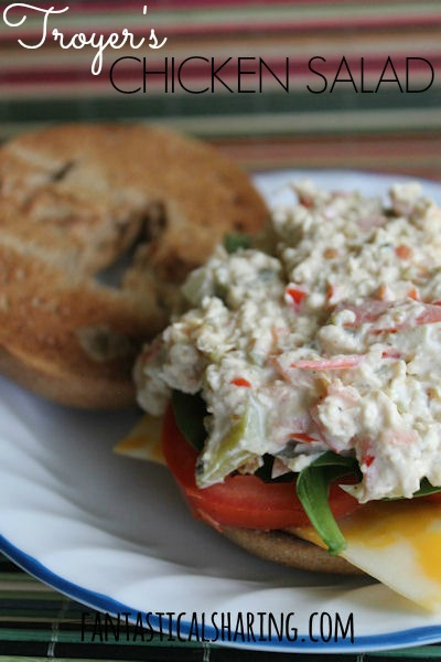 Troyer's Chicken Salad | A perfect #recipe that you can't help but make regularly | www.fantasticalsharing.com