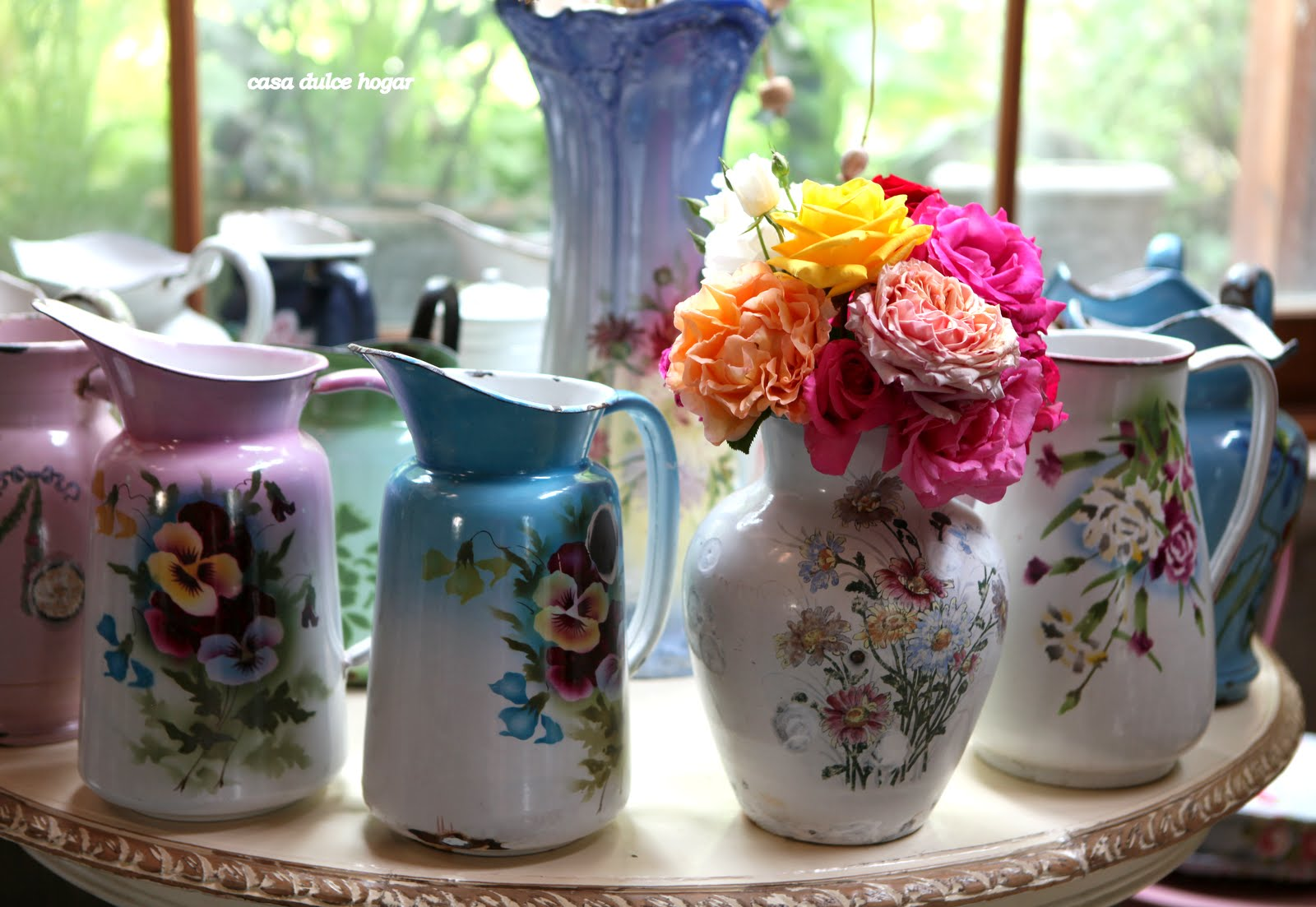 Casa dulce hogar rosas de mi jard n for Casa hogar jardin
