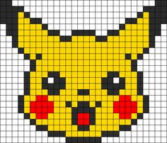 Minecraft Pixel Art Building Ideas Pikachu Pixel Art
