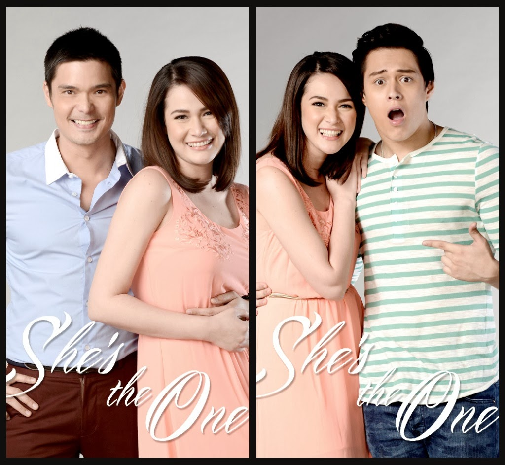 Dantes, Enrique Gil and Bea Alonzo in SHE'S THE ONE (Photo Release
