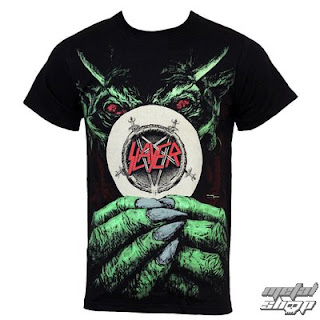metalové tričko Slayer