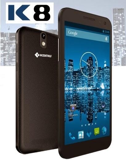 Annunciato il nuovo phablet android con chipset 8 core Mediatek e supporto al dual sim tutto italiano: Komu K8
