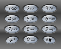 Keypad Typing Numbers Instead Of Letters