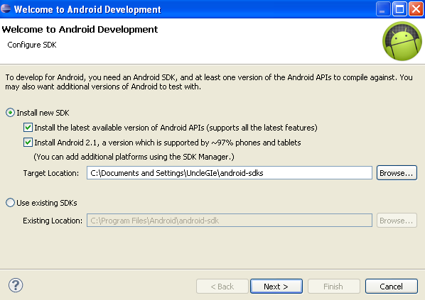 Tutorial augmented reality android part 2 installing sdk for Android ar sdk