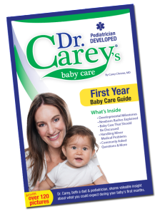 Dr. Carey's Baby Care: First Year Baby Care Guide + FLASH Giveaway