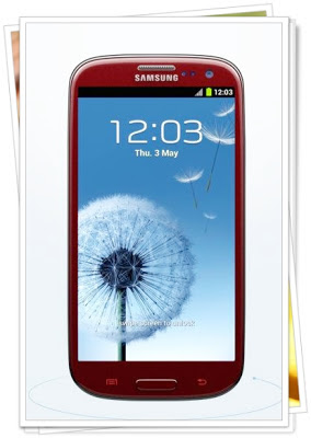 Garnet Red Samsung S3: Fabulous reward for weight loss