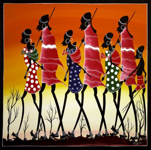 African paintings arts drawings african crafts cini clips for African arts and crafts history