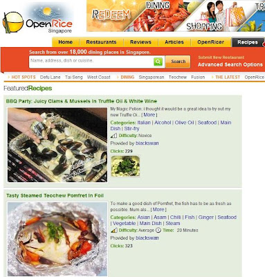 openrice singapore features juicy clams mussels recipe