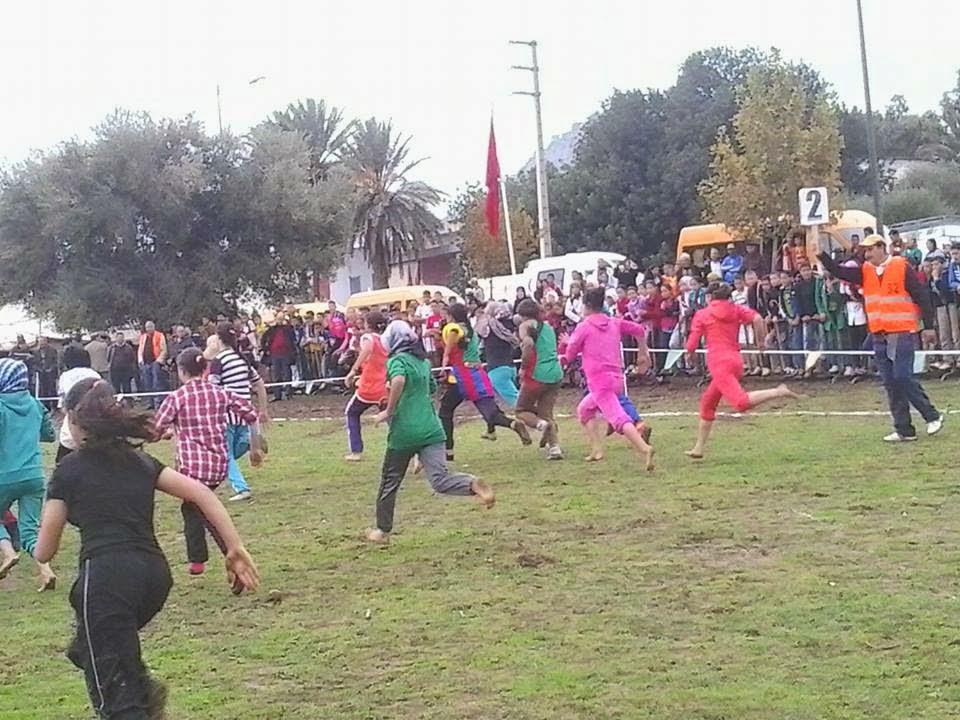 تاونات: جماعة الورتزاغ تحتضن البطولة الاقليمية للعدو الريفي المدرسي