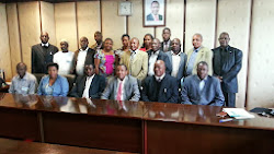 Members of the 1st EAC Jua Kali/ Nguvu Kazi Sterring Committee