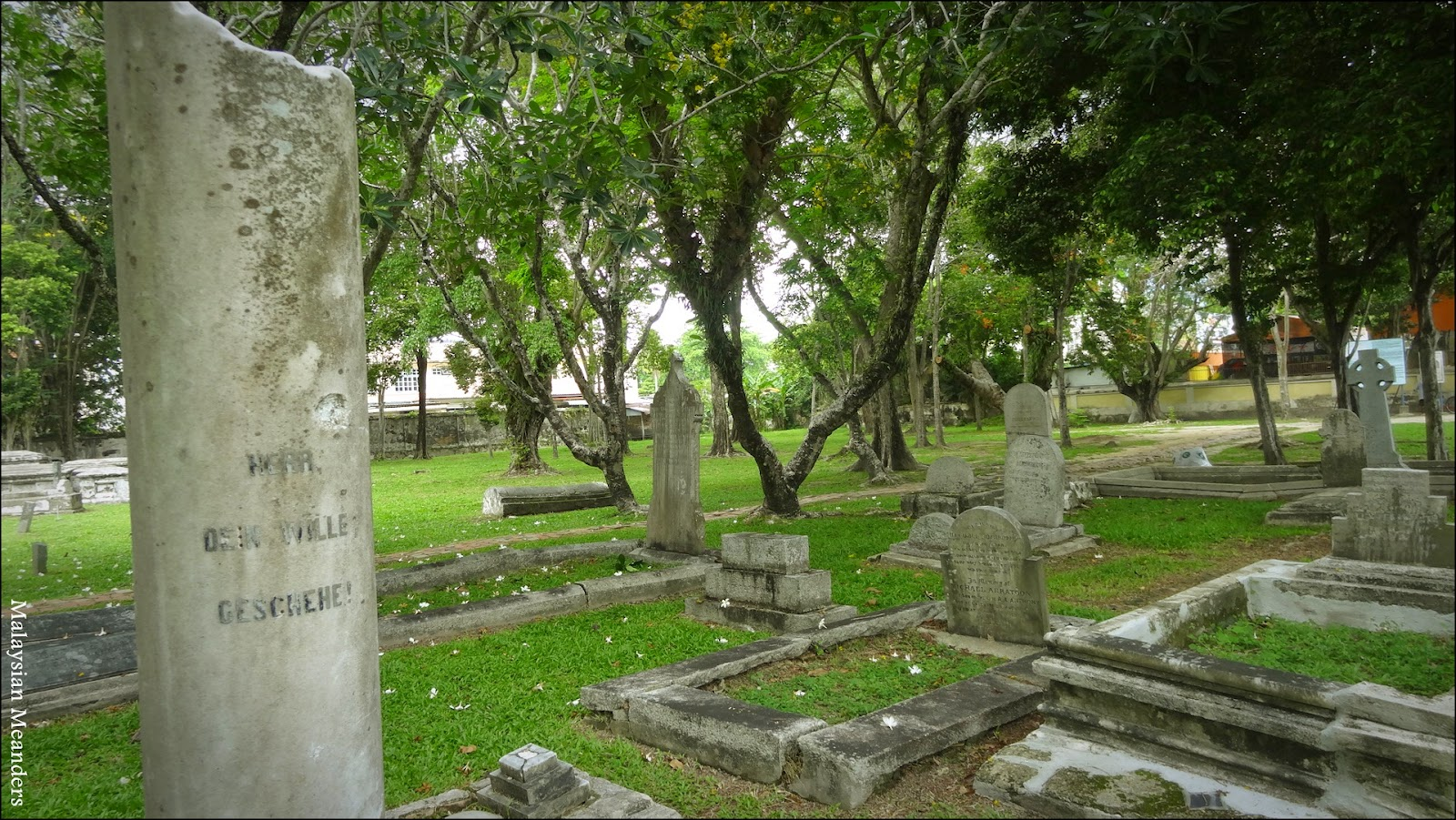 Old Protestant Cemetary, Penang