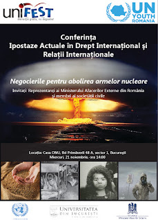 Conferinta Ipostaze Actuale in Drept International si Relatii Internationale