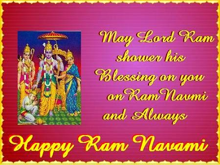 Ram Navami Nice Wishes Greetings Wallpapers