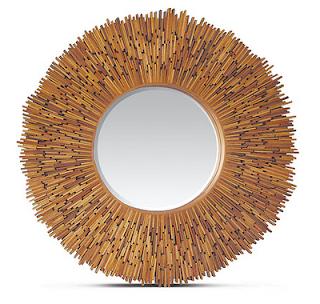 Mis puntadas preferidas espejos decorados con distintos - Como se hacen los espejos ...