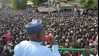 Sule Lamido addresses mammoth crowd in Jigawa (see the photos)
