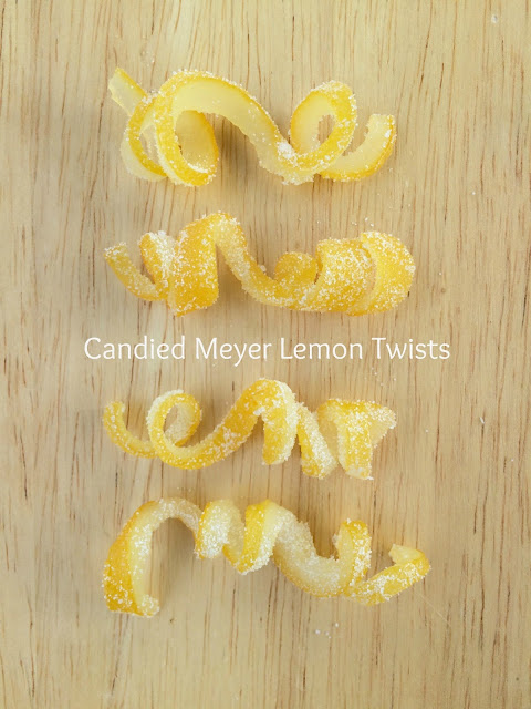 Candied Meyer Lemon Twists | www.jacolynmurphy.com