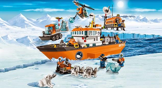 Lego Arctic Icebreaker 60062