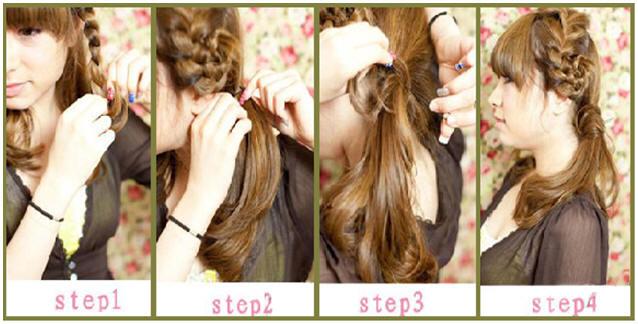 stepbystep-sideway-butterfly-braided-hair-style-brown-hair-color-light ...
