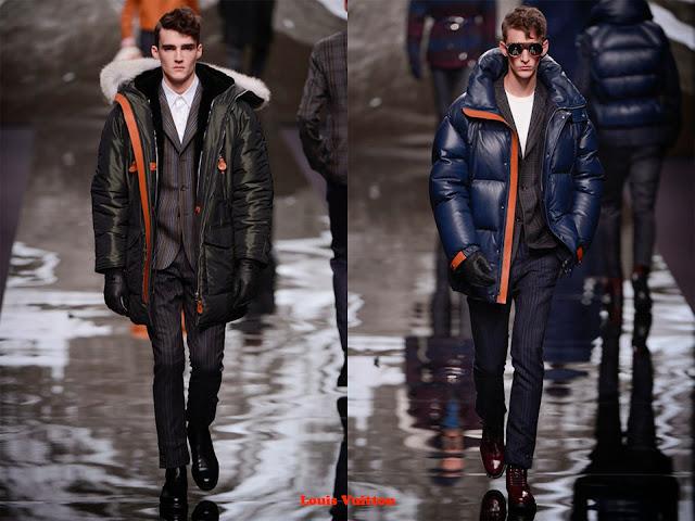 Tendencia otoño_invierno 2013-14 anorak de plumas: Louis Vuitton
