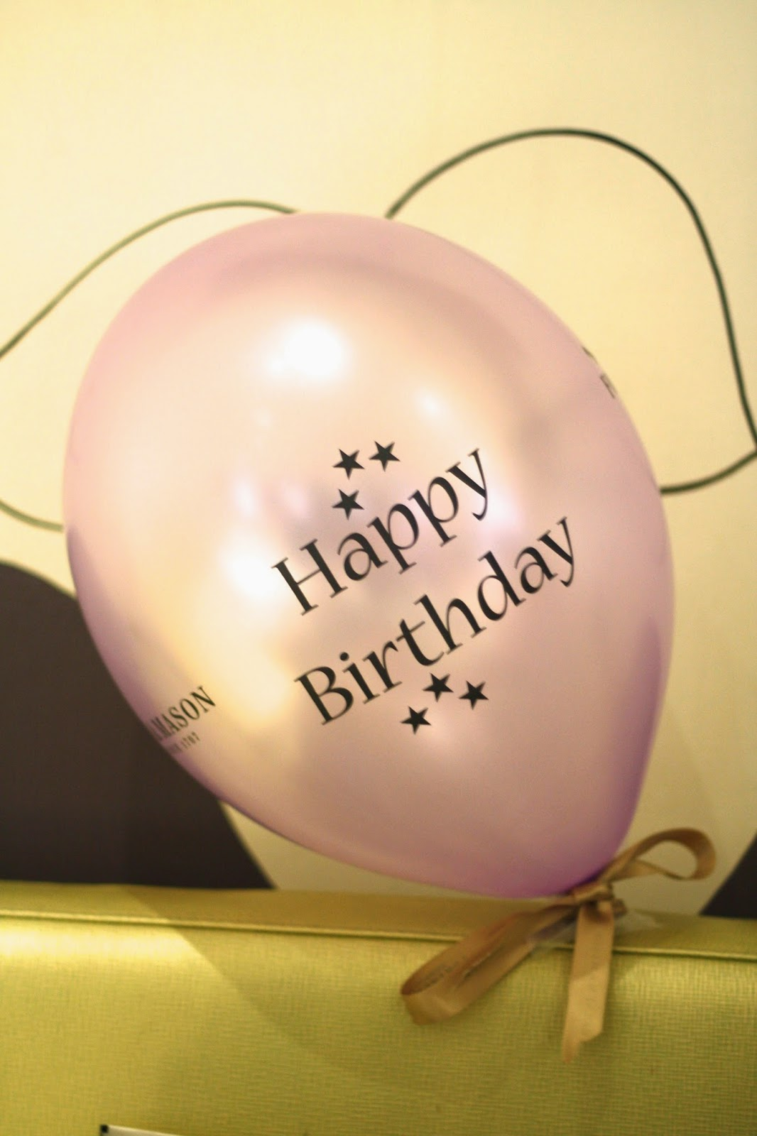 Fortnum & Mason balloons