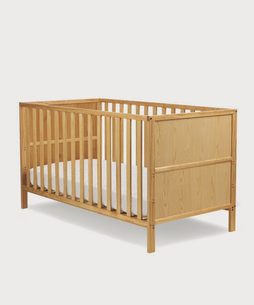 I also bought a custom mattress from Uratex, blue and 3-inch thick, for  P670. - Expectant Pinay Mom: Mothercare Wooden Crib