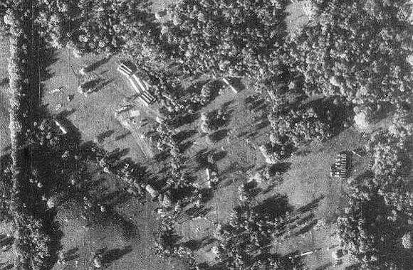 Foto yang menggambarkan kosentrasi rudal di Kuba