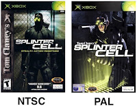 Splinter Cell NTSC or PAL