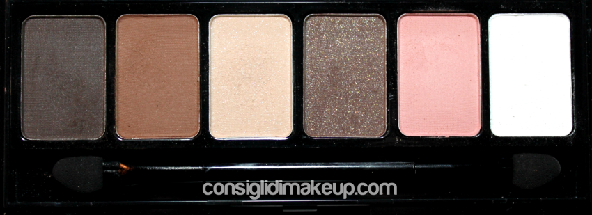 adorable palette nyx swatches e opinioni