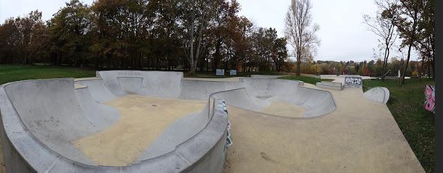 skate park bois le roi