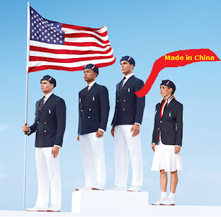 team USA olympic uniforms made in China