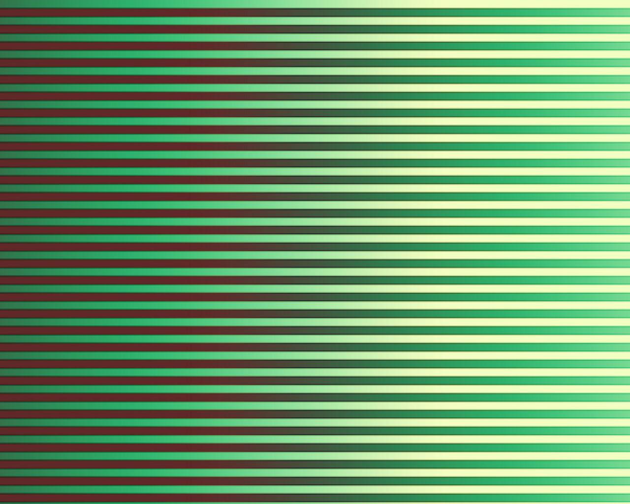 Pastel Green Horizontal Stripes Iphone
