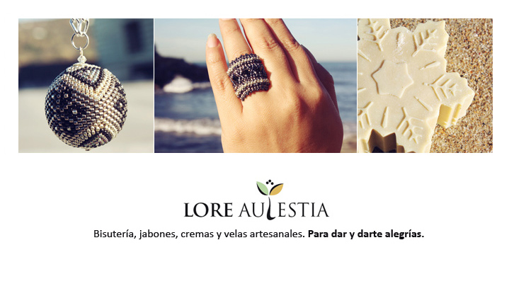 Lorena Aulestia. Artesanias.