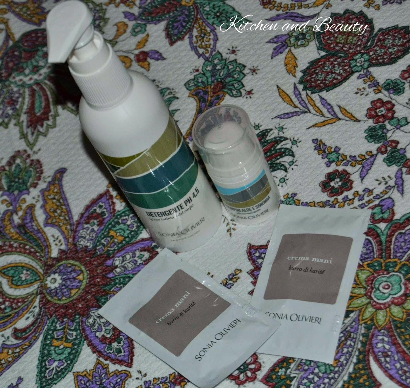 review prodotti sonia olivieri!
