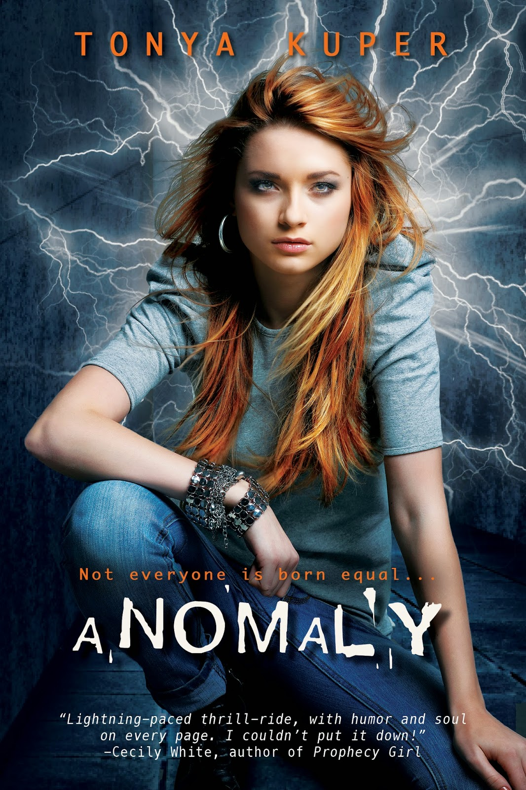 Anomaly on Goodreads