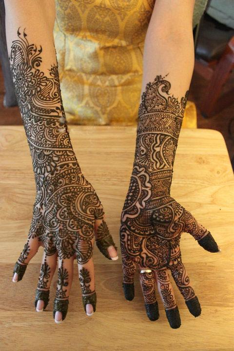 Mehndi Designs Latest Bridal : Latest mehendi designs indian wedding mehndi