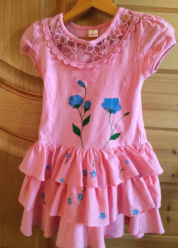 Переделка детское платье своими руками 85