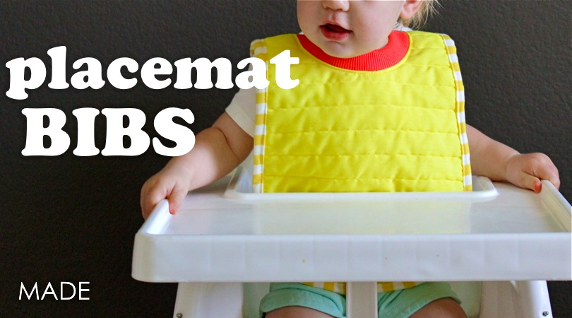 Placemat Bibs – MADE EVERYDAY