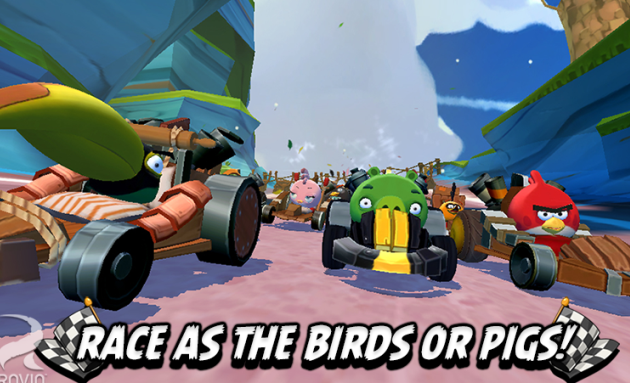 Angry Birds Go! Game Released for Android,iOS and Windows Phone
