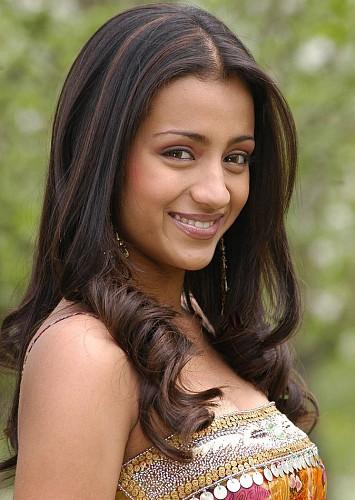 Trisha Krishnan Hairstyle