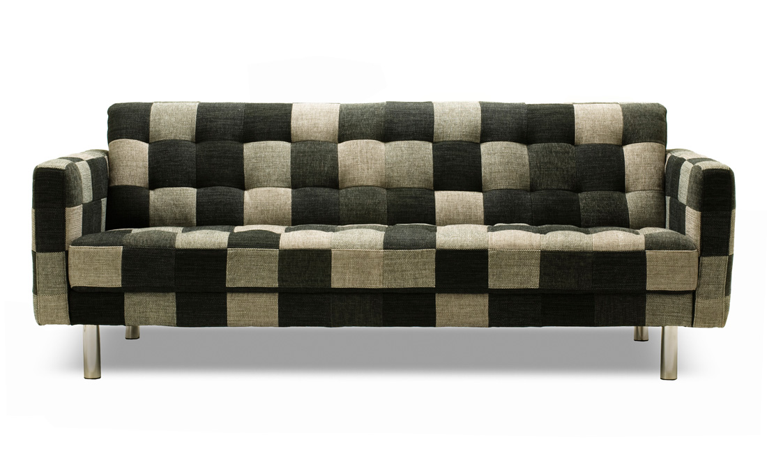 Patterned Sofas Blue And White Striped Sofa Pinterest Thesofa