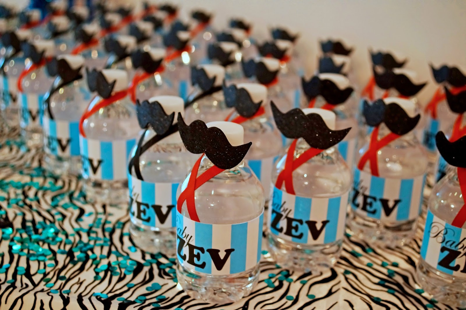 Moustache themed Baby Shower